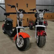 Harley-Davidson Fat Boy 3000 Вт новейший электрический скутер Citycoco с толстыми шинами
