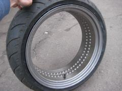 Rims for motorcycle wheels