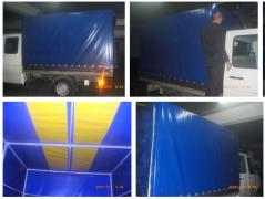 The awnings, manufacturing of tents and covers