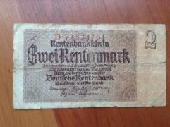 Two reichmark 1937
